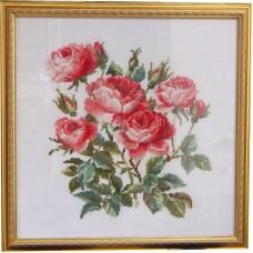 """Вышитая картина """"Розы"""""""