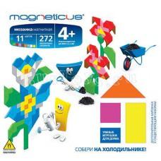 Мозаика магнитная миди Цветы (MM-12BL)