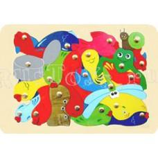 Мозаика Рыбалка на пруду (143-015)