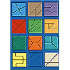 Большой деревянный Сложи квадрат-2 Стандарт