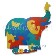 Коврик напольный Слон